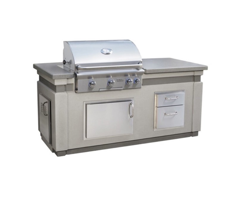 Aog L Series Island Bundle Outdoor Kitchen Appliances